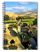 View From Santa Rosa Road Spiral Notebook