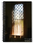 View From The Bathroom Window Spiral Notebook