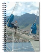 St. Kitts From The Bow Spiral Notebook