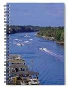 View From The Bridge Of Lions Spiral Notebook