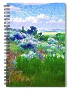 View From The Cabin Window 2 Spiral Notebook