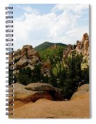 View From The Crags Spiral Notebook