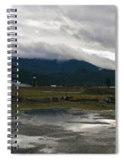 View From The Horse Barn Spiral Notebook