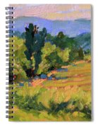 View From The Orchard Spiral Notebook
