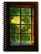View From The Orwell Corner Church Spiral Notebook