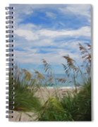 View From The Outer Banks Dunes Spiral Notebook