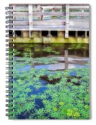 View From The Pier Spiral Notebook