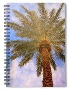 View From The Pool Spiral Notebook