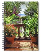 View From The Royal Garden Spiral Notebook