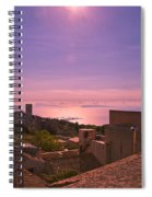 View From The Top In Sicily 2 Spiral Notebook