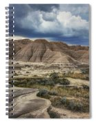 View From The Top - Toadstool  Spiral Notebook