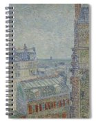View From Theo S Apartment Paris, March - April 1887 Vincent Van Gogh 1853  1890 Spiral Notebook