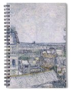View From Vincent's Room In The Rue Lepic Spiral Notebook