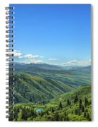 View From White Bird Hill Spiral Notebook