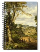 View In Berkshire County, Massachusetts, Clearing Off After A September Storm Spiral Notebook