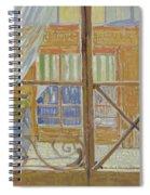 View Of A Butcher S Shop Arles, February 1888 Vincent Van Gogh 1853  1890 Spiral Notebook