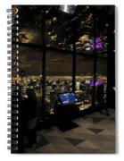 View Of A View - 360 Chicago Hancock Ctr Spiral Notebook