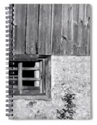 View Of Barn Exterior Spiral Notebook