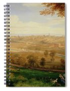 View Of Bradford Spiral Notebook