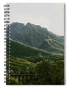 View Of Bridge And The Town Of Cava, Kingdom Of Naples Spiral Notebook