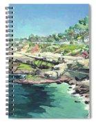 View Of Brockton Villa, La Jolla, California Spiral Notebook