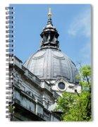 View Of Brompton Oratory Dome Kensington London England Spiral Notebook
