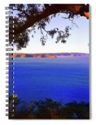 View Of  Central Coast From West Head  Spiral Notebook