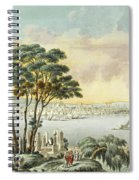 View Of Constantinople From The Marmara Sea Spiral Notebook