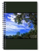 View Of Countryside In Frederick Maryland In Summer Spiral Notebook