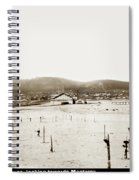 View Of Del Monte Bath House Looking Southwest Towards Monterey  Spiral Notebook