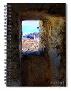 View Of Dubrovnik  Spiral Notebook