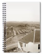 View Of Foothill Orchards. This View Of Orchards In The Foothill Spiral Notebook