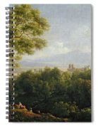 View Of Frascati Spiral Notebook