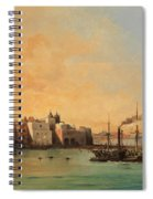 View Of Ischia From The Sea Spiral Notebook