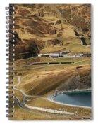 View Of Kleine Scheidegg Spiral Notebook