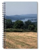View Of Lake Waramaug Spiral Notebook