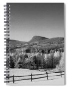 View Of Lake Willoughby Spiral Notebook