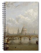 View Of London  Spiral Notebook