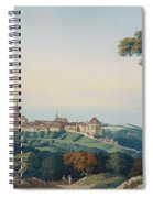 View Of Lucerne Spiral Notebook