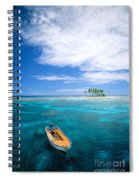 View Of Micronesia Spiral Notebook