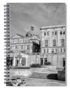 View Of Montgomery County Courthouse From The Southside In Black Spiral Notebook