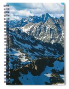 View Of Mountains, Table Mountain Spiral Notebook