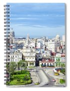 View Of Old Town Havana Spiral Notebook