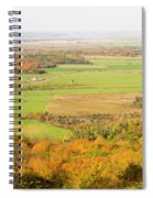 View Of Ottawa Valley In Autumn 13 Spiral Notebook