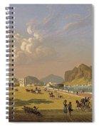 View Of Palermo 1845, Robert Salmon Spiral Notebook