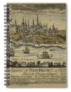 View Of Quebec City 1759 Spiral Notebook