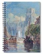 View Of Rotterdam Spiral Notebook