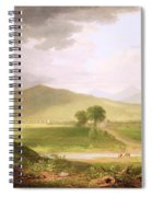 View Of Rutland - Vermont Spiral Notebook
