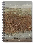 View Of San Francisco Spiral Notebook
