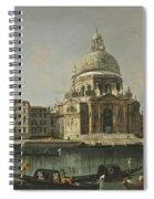 View Of Santa Maria Della Salute. Venice Spiral Notebook